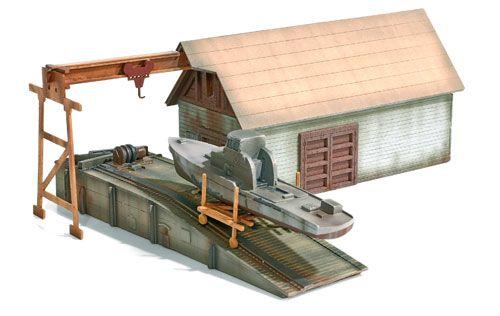 MTL #38 -- BOAT REPAIR SHOP KIT Micro Trains